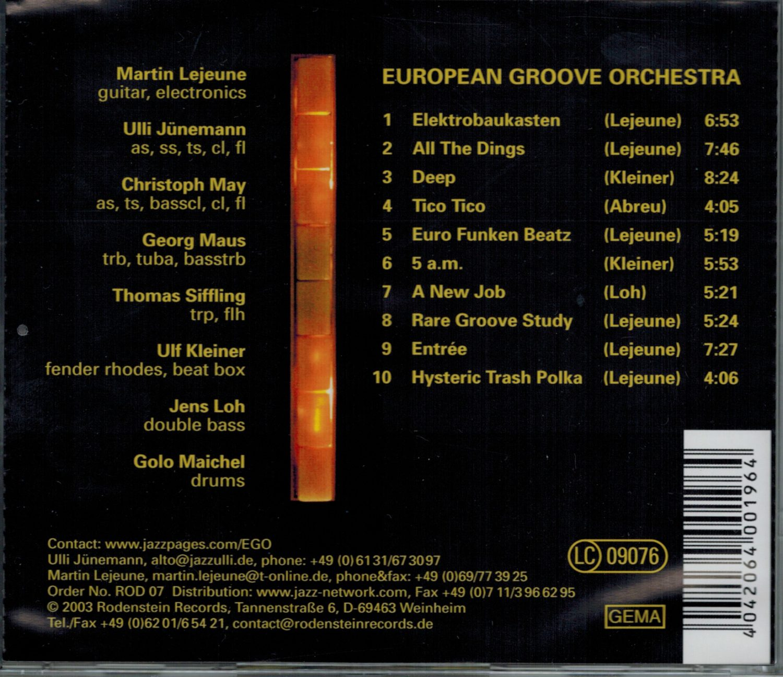 "European Groove Orchestra ""EGO"""