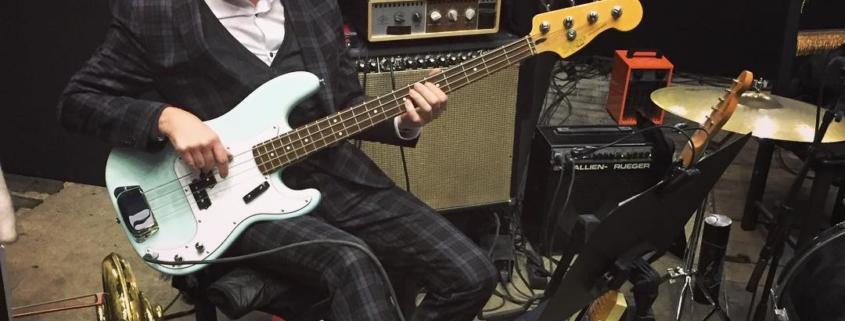 Martin Lejeune Fender Bassist, Foto Rebekka Waitz