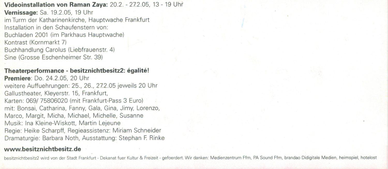 besitznichtbesitz2, Martin Lejeune Bühnenemusik