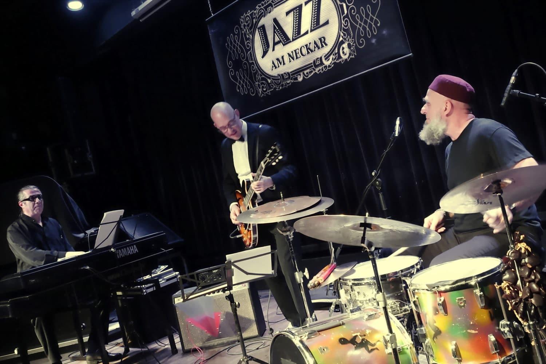 Paata Demurishvilli, Martin Lejeune, Erwin Ditzner, Jazz am Neckar