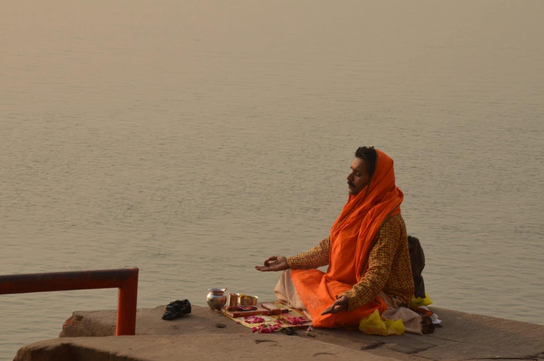 Meditation Varanasi, Martin Lejeune
