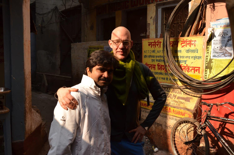 Martin Lejeune, Sandip Kewale, Varanasi, India