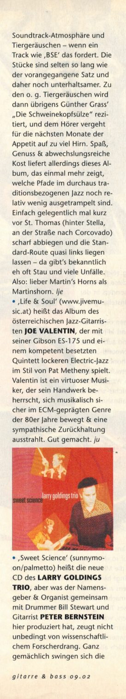 Martin's Horns, Martin Lejeune, Jazz