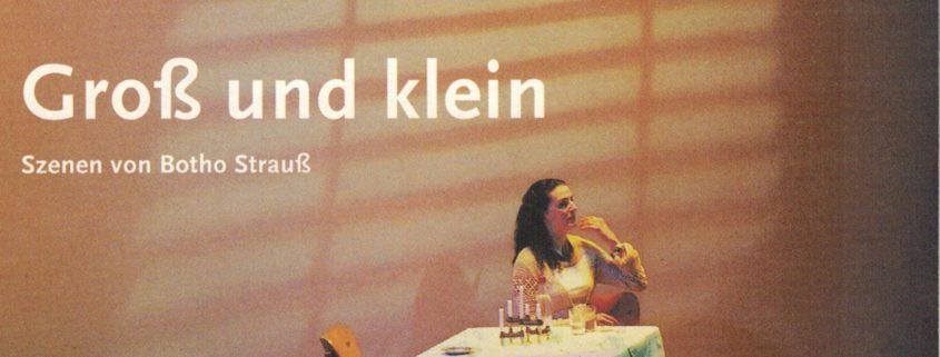 Wuppertaler Bühnen, Gross und Klein, Botho Strauss, Bühnenmusik, Martin Lejeune, Robin Telfer