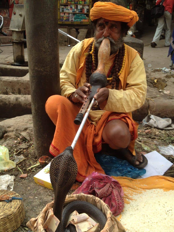 Flute teacher, Martin Lejeune, India