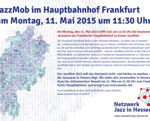 Jazzmob Flyer 11.5.2015, Martin Lejeune