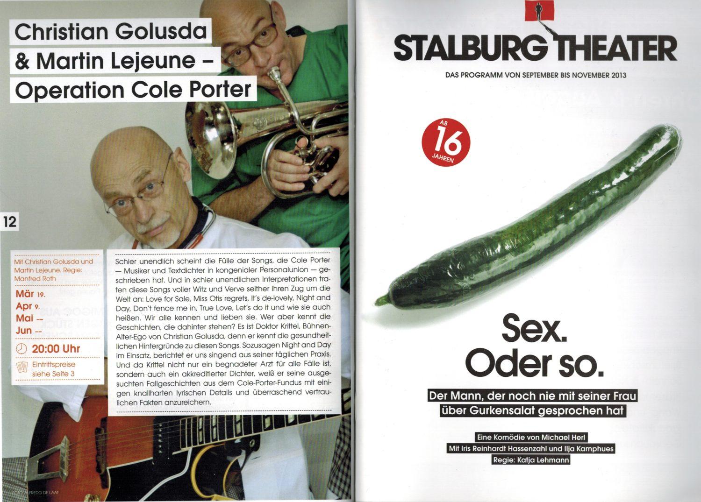 Operation Cole Porter, Martin Lejeune, Christian Golusda
