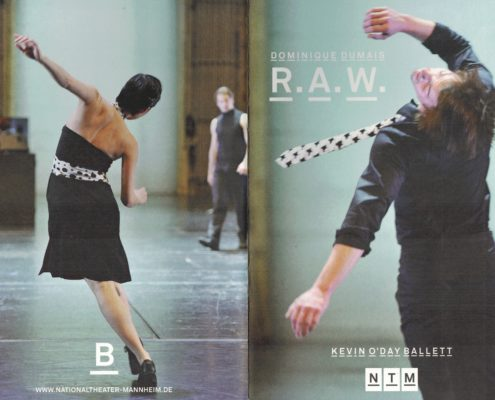 RAW; Kevin O'Day Ballett, Thomas Siffling, Lömsch Lehmann, Judith Goldbach, Erwin Ditzner, Martin Lejeune