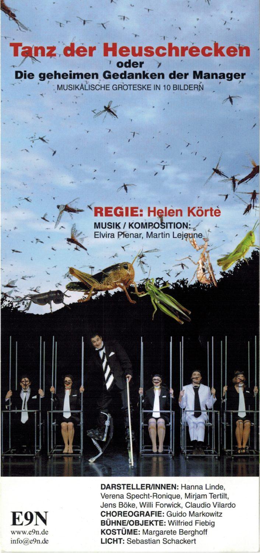 Bühnenmusik Martin Lejeune, Ensemble 9.November